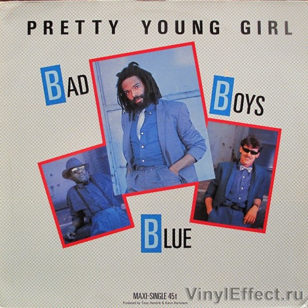 Pretty young girl Bad Boys Blue