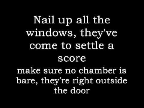 Creature Feature - Aim for the Head (LYRICS VIDEO)