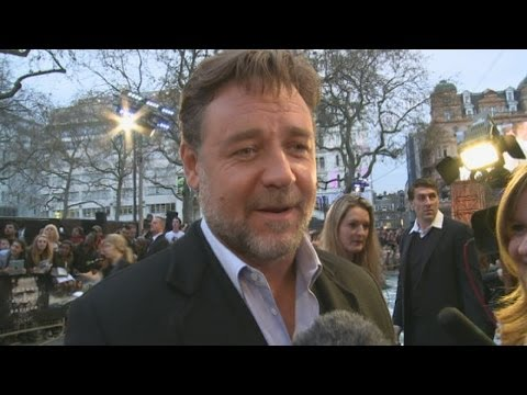 Russell Crowe Interview: Emma Watson and Douglas Booth are wonderful
