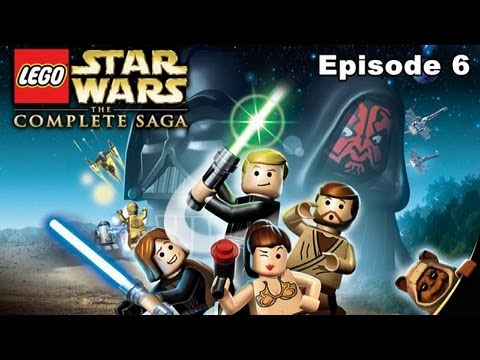 Lego Star Wars The Complete Saga Walkthrough - Episode 6 Return Of The Jedi