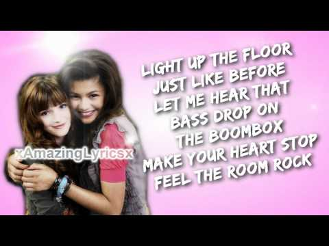 Shake It Up's Bella Thorne and Zendaya - Watch Me Lyrics.