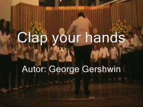 Clap your hands - George Gershwin - Coro Academia Piccolo