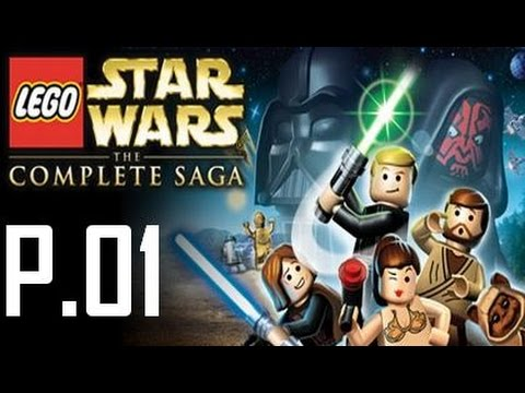 Lego Star Wars Complete Saga Walkthrough Part 1