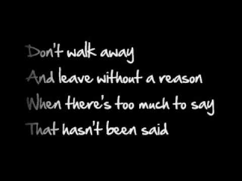 The Sick Puppies - Don't Walk Away [With Lyrics]