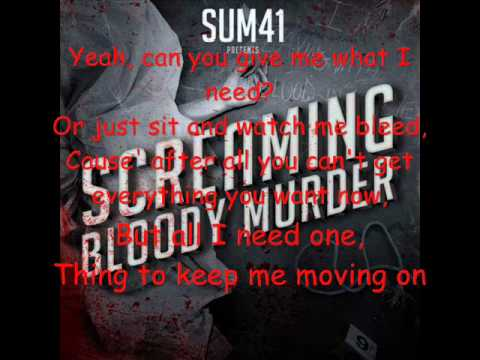 Sum 41 Reason to Believe (Acoustic) Lyrics