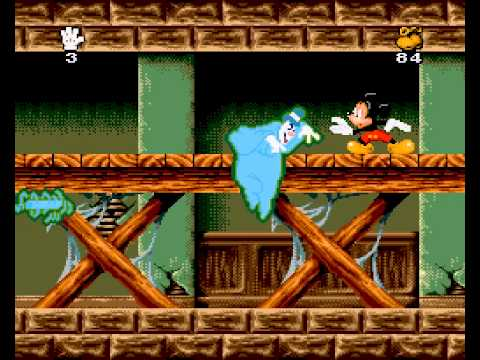 Mickey Mania: The Timeless Adventures of Mickey Mouse Walkthrough/Gameplay Super Nintendo