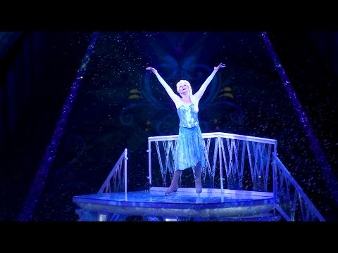 Disney Frozen on Ice Skating Highlights From Debut Show - Let it Go Anna & Elsa