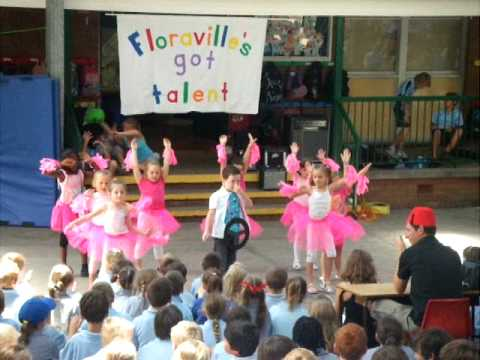 Awesome Barbie Girl dance by Kindergarten