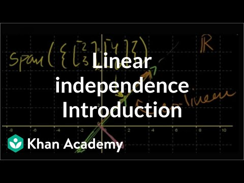 Linear Algebra: Introduction to Linear Independence