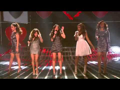 Fifth Harmony ft. Demi Lovato - Give Your Heart a Break - The X Factor USA 2012