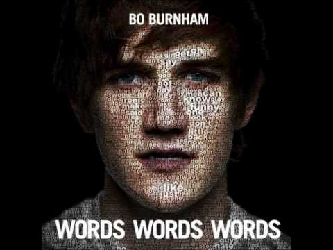 Bo Burnham - Words Words Words (Studio Version)