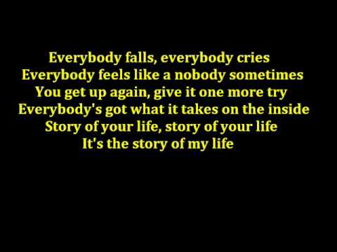 Story Of My Life - Backstreet Boys Lyrics