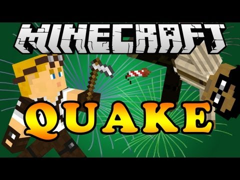 Playing Quake on Hypixel's server | New Intro | Minecraft