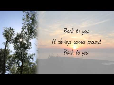 John Mayer - Back To You (With Lyrics)