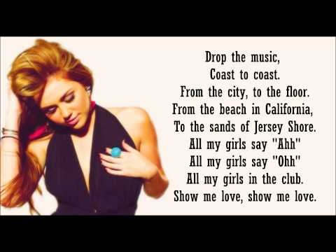 Miley Cyrus ft. Rock Mafia - Morning Sun (Lyrics)