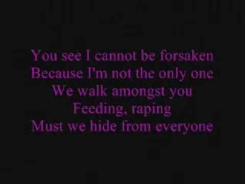 korn and disturbed forsaken lyrics