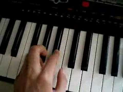Sleep Poets of the Fall keyboard lesson