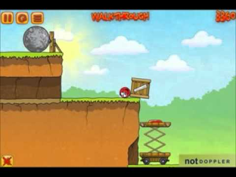 Red Ball 3 Walkthrough Levels 11-20