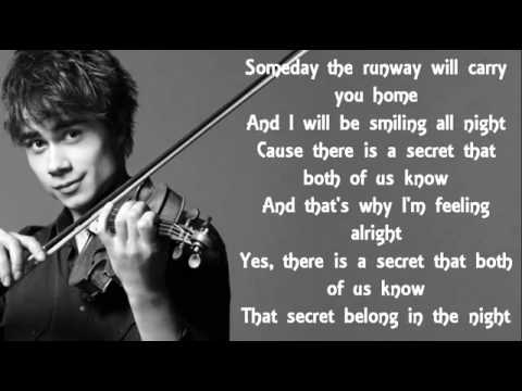 Alexander Rybak- First Kiss lyrics - YouTube