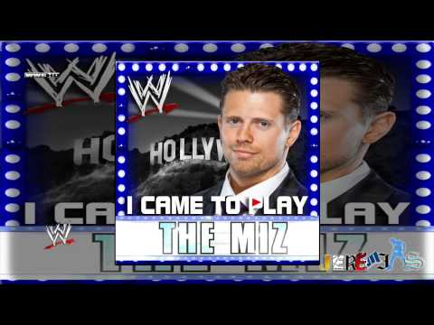 WWE: I Came To Play (The Miz) By Jim Johnston [Feat Downstait] + Custom Cover And Link