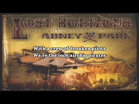 Abney Park - Airship Pirate (+ Lyrics)