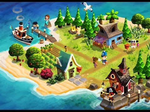 Castaway Paradise iOS/Android Gameplay Walkthrough