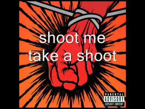 Metallica-Shoot Me Again with lyrics
