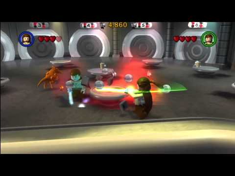 Lego Star Wars The Complete Saga Walkthrough Part 1 Ps3