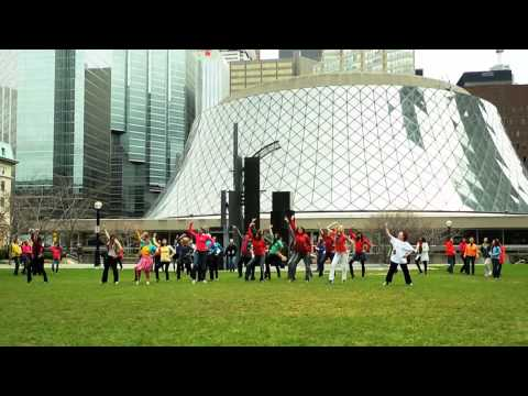 International Dance Day 2011 Flashmob @ David Pecaut Square (Official Video)
