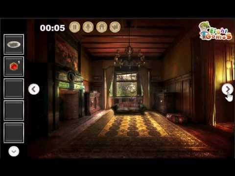 Deserted Manor House Escape [Complete Walkthrough] EightGames