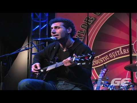 Serj Tankian (System of a Down) - NAMM '10 Performance