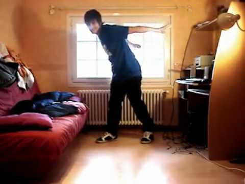 insane dubstep dance