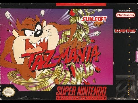 SNES Taz-Mania Video Walkthrough