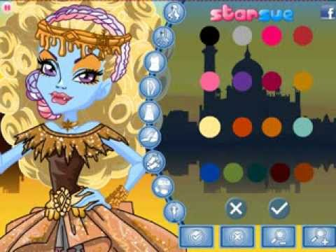 Abbey Bominable in 13 Wishes Dress Up Game Video