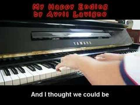 My Happy Ending - Avril Lavigne (Piano)