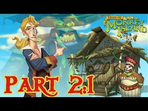 Tales of Monkey Island: Chapter 2: The Siege of Spinner Cay - Part 3 - HD Walkthrough