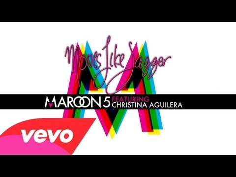 Maroon 5 feat Christina Aguilera - Moves like Jagger (Instrumental & Lyrics)