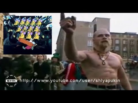 Техно Викинг и Бабки Ежки!Прикол.Techno Viking VS Babki Ezki (by russian)