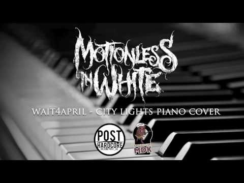 Motionless In White - City Lights | wait4april piano cover