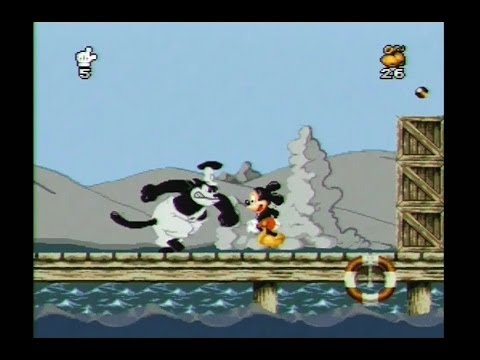 Mickey Mania SNES Walkthrough Super Nintendo Gameplay