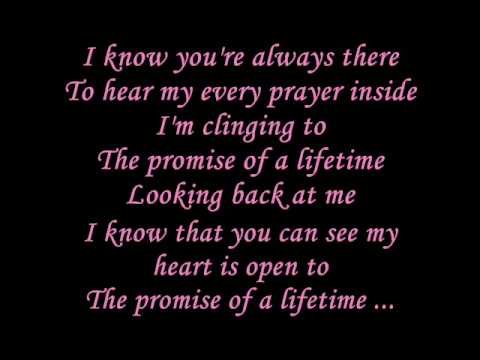 Kutless - Promise of a lifetime Lyrics