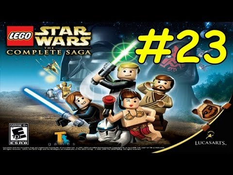 Walkthrough DEATH STAR ESCAPE Lego Star Wars Complete Saga Episode 4 Level 5