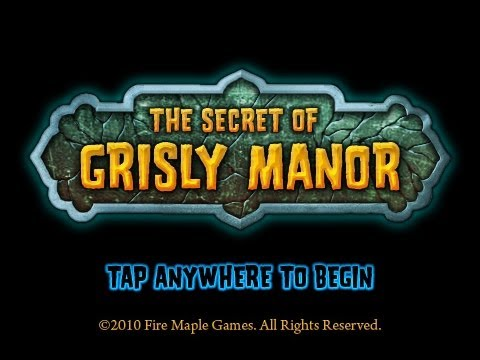 The Secret of Grisly Manor Complete walkthrough