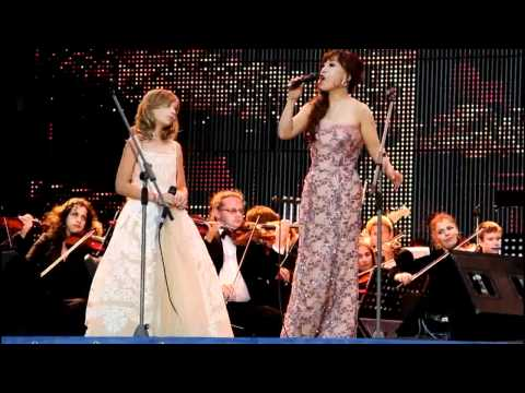 Jackie Evancho and Jo Su-mi ( Time To Say Goodbye - Con Te Partiro - ) In St Petersburg
