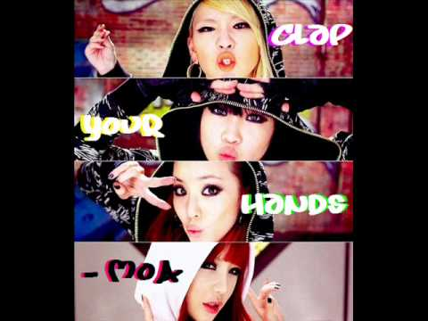 2ne1 Clap Your Hands (English Version) - MoA